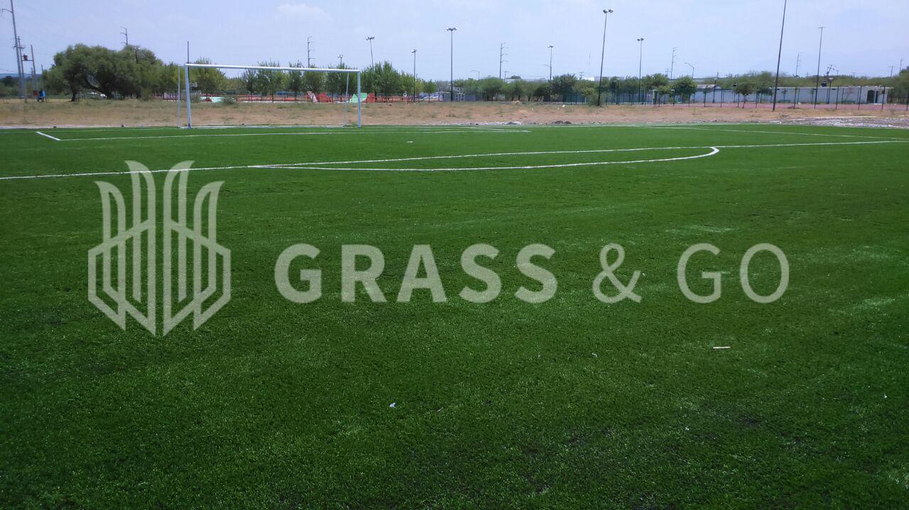 Cancha de fútbol soccer - Unidad deportiva Ignacio Zaragoza, Linares, N.L.