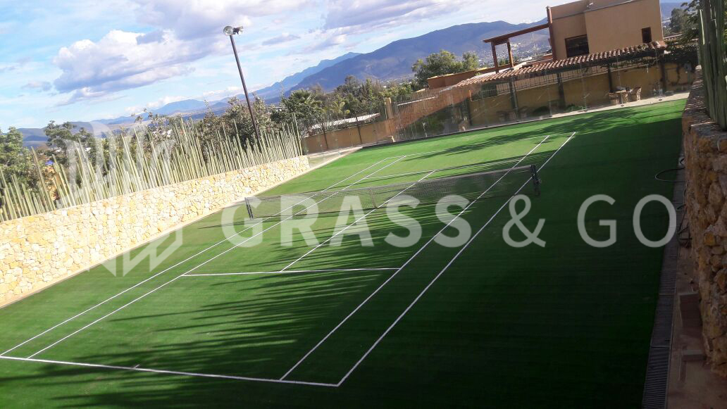 Cancha de tenis - Oaxaca.