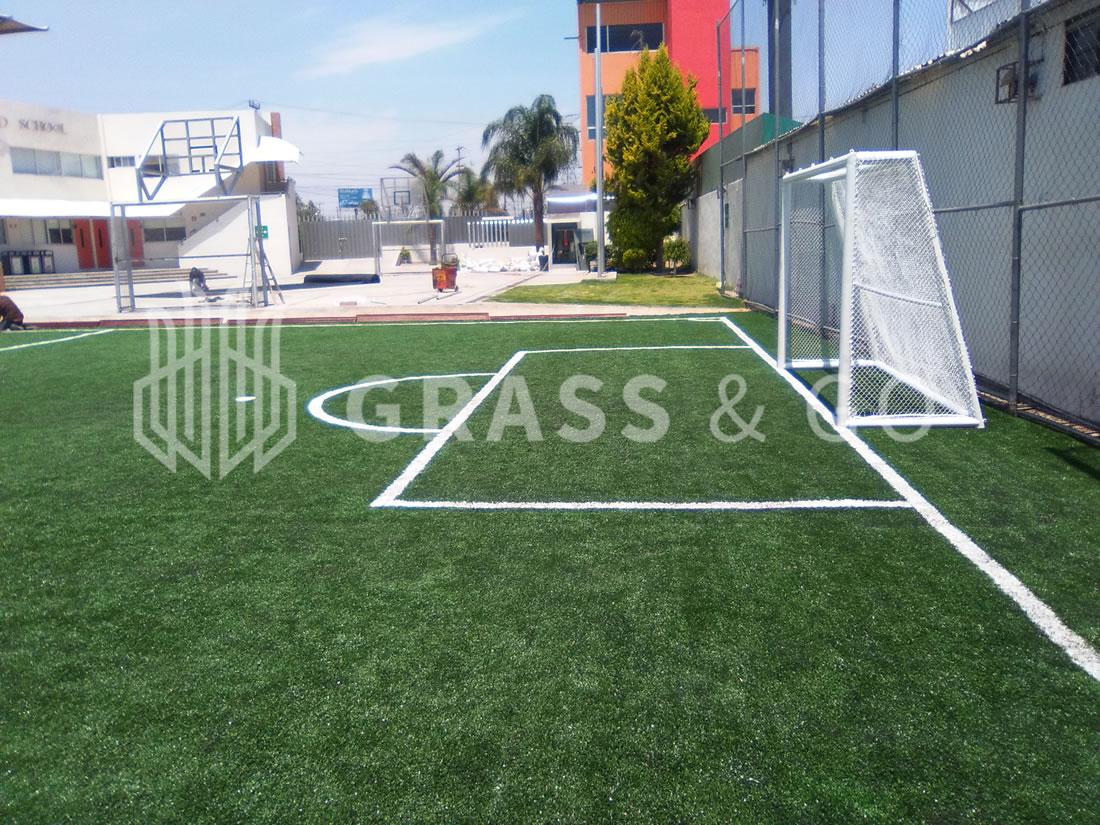 Cancha de fútbol cinco - Anrod School, Cholula, Pue.