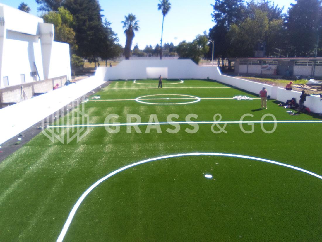 Cancha de fútbol rápido - Benemérito Instituto Normal del estado de Puebla.