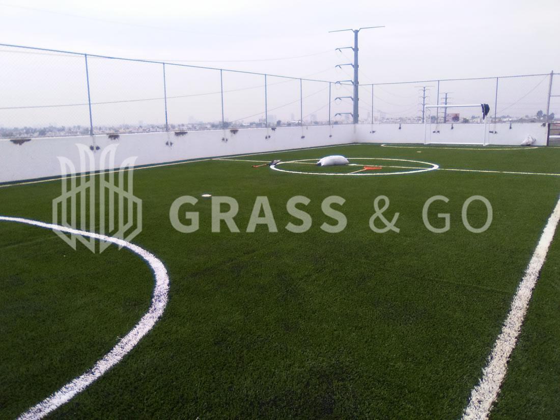 Cancha de fútbol cinco - Dormitorios UDLAP